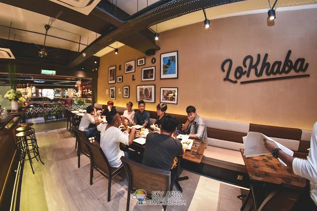 LoKhaba Bangsar Restaurant Interior