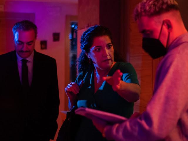 Finaliza el rodaje de 'The Nanny's Night', con el regreso al cine de Diana Peñalver (Braindead)