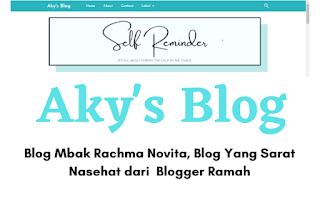 Blog Yang Sarat Akan Nasehat