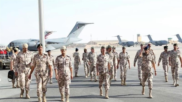 Qatari forces participate in Gulf shield drill in Saudi Arabia