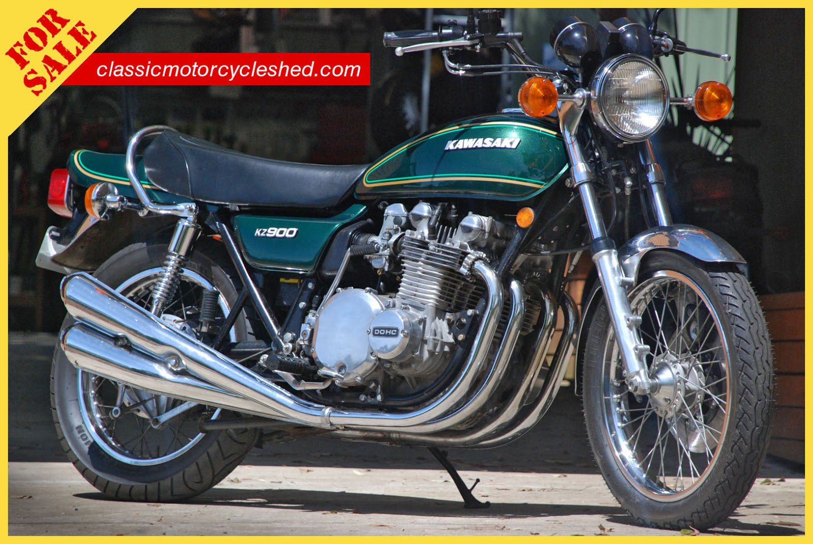 classic motorcycle shed: 1976 kawasaki kz900-a4 for sale