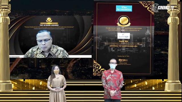 Bank bjb Raih Penghargaan Top Bank Awards 2021 Katagori Bank BUKU 3