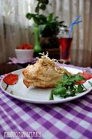 (Kurczak faszerowany fetą i suszonymi pomidorami