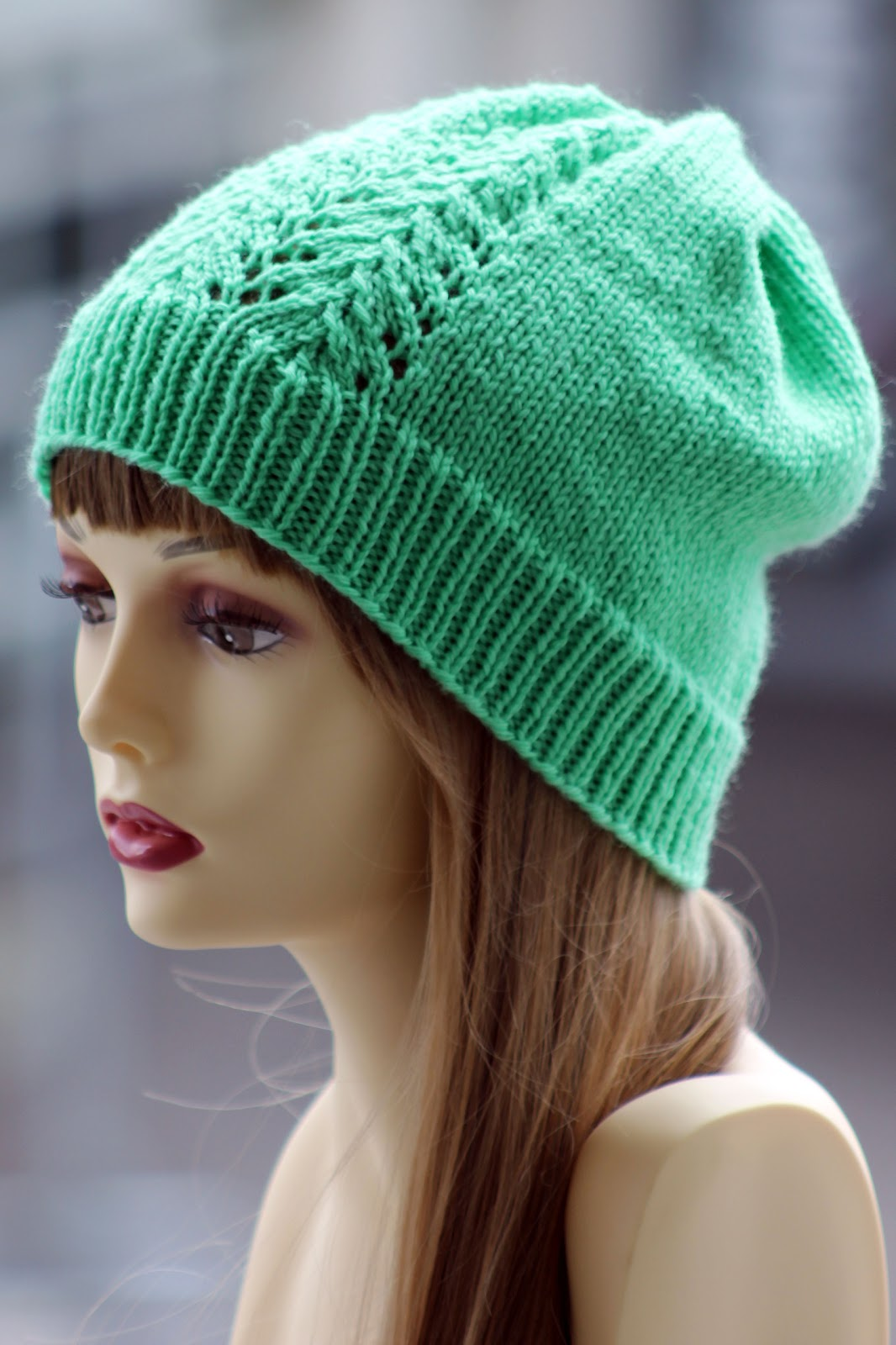 Knit Childs Hat Straight Needles 2016