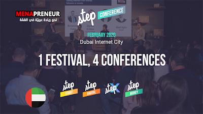 """دبي تستضيف مؤتمر STEP 2020 للأسواق و الشركات الناشئة تحت شعار """"العالم في دبي"""""""