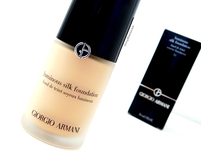 Giorgio Armani Luminous Silk Foundation Shade 3.5