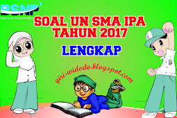 Download Soal UN SMA 2017 Jurusan IPA All Mapel