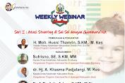 Weekly Webinar: Atasi Stunting di Sulsel Dengan Program Gammara'NA