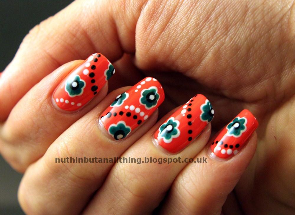 Fishnets and orange nail polishwmv