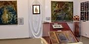 Kiváló textiles iparművész kiállítása nyílt meg Hajdúszoboszlón