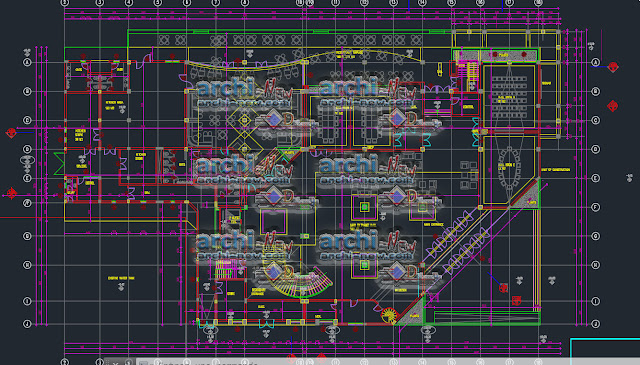 Building Conference centre freecad Dwg
