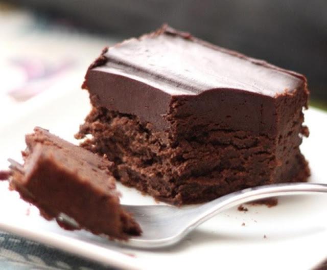 كيكة الشوكولاتة الباردة