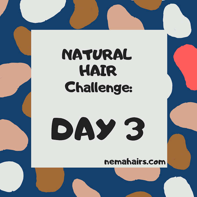 NATURAL HAIR CHALLENGE: DAY 3