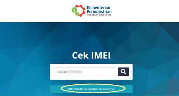 Cara cek IMEI HP resmi atau ilegal