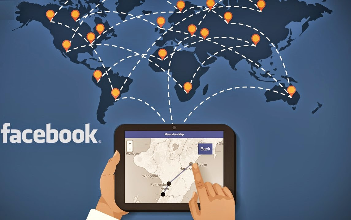 Facebook location, Track Facebook users