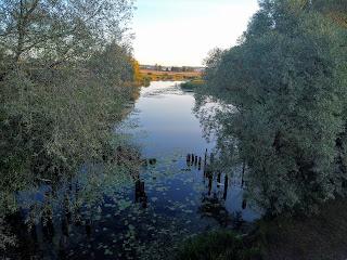 Миропілля. Місце злиття річок Удави і Псел