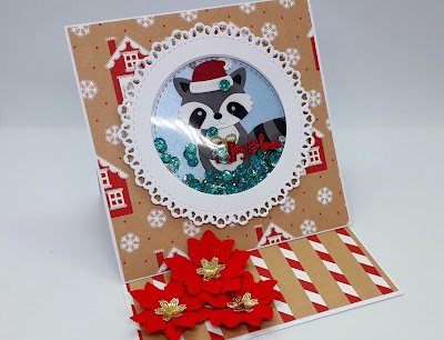 Christmas shaker card ideas