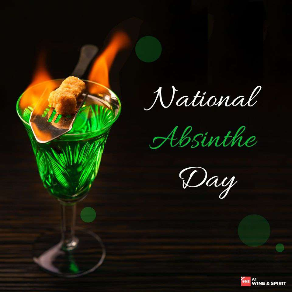 National Absinthe Day Wishes Sweet Images