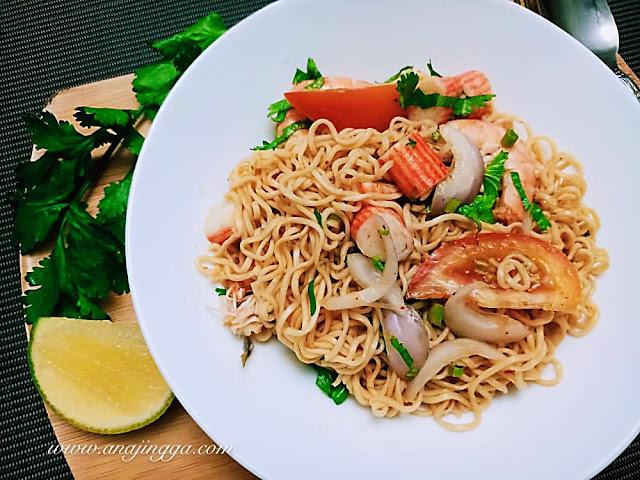 resepi kerabu meggi thai