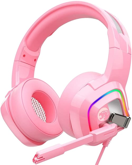 Review ZIUMIER Z66 Pink Gaming Headset