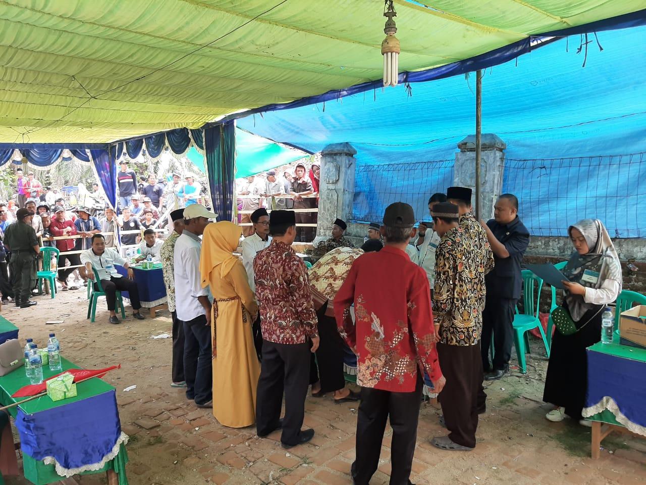 Dirpolairud Polda Banten Pamatwil Polsek Cikeusik Monitoring Tempat Pilkades