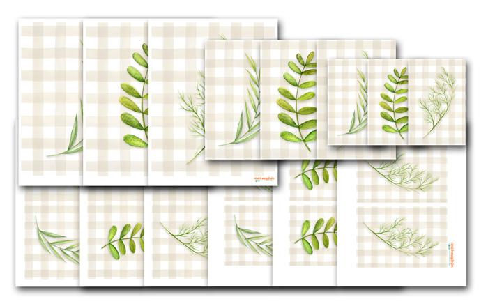 Greenery Printables