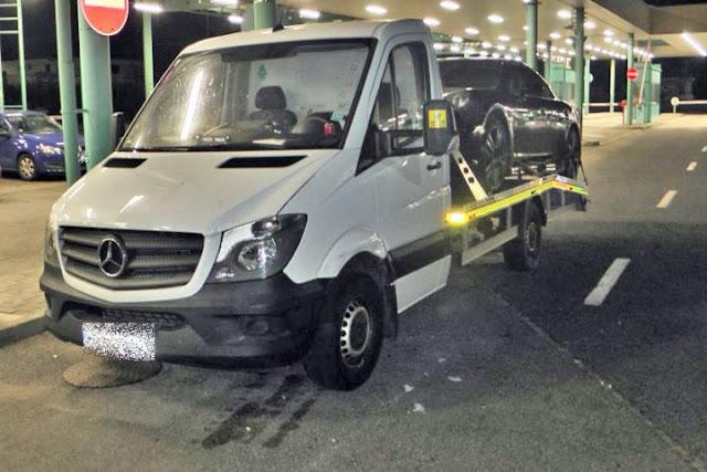 Lopott trélerrel akart meglógni egy szerb sofőr
