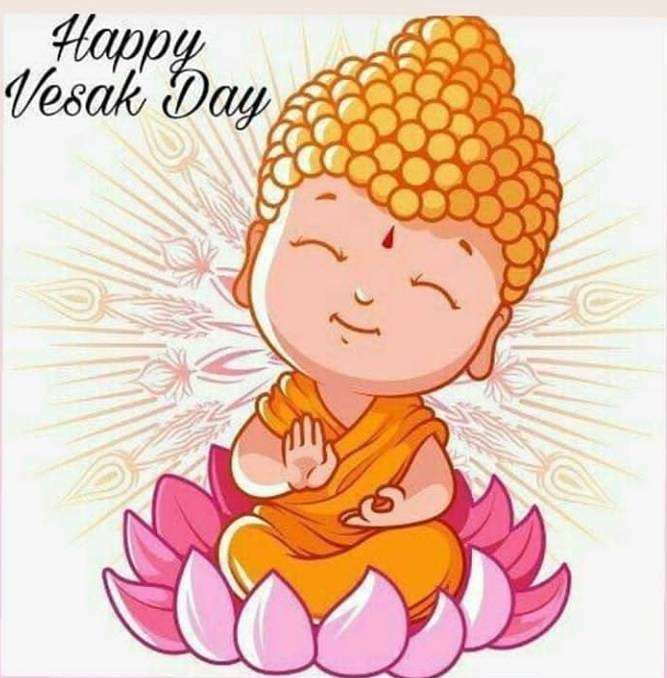 Vesak Wishes Awesome Picture