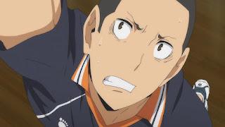 ハイキュー!! アニメ 3期8話   成田一仁 Narita Kazuhito CV. 西山宏太朗   Karasuno vs Shiratorizawa   HAIKYU!! Season3