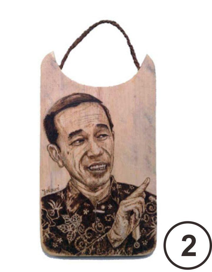 Pirografi  Jokowi 123