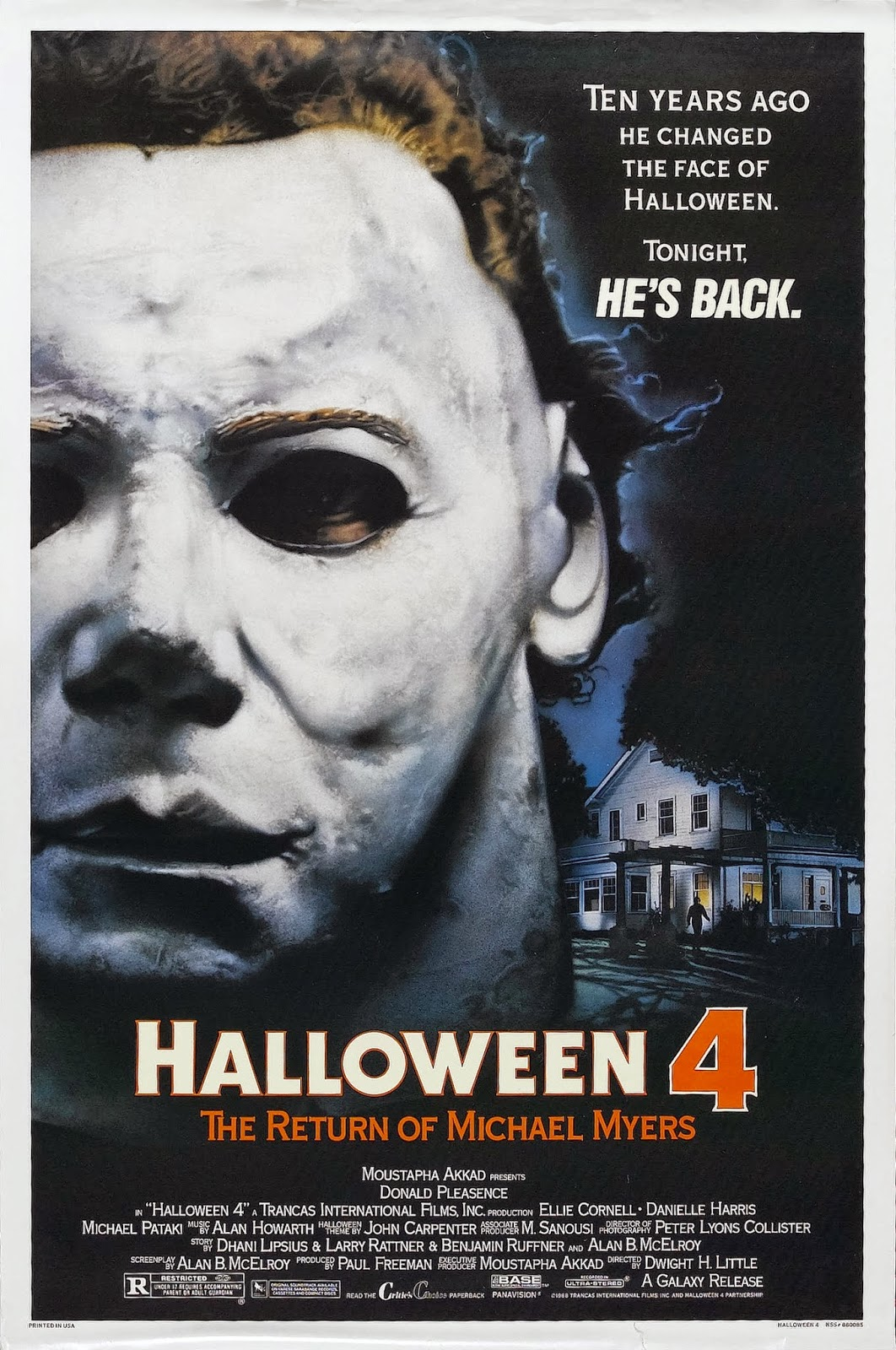 Naptown Nerd: Halloween 4: The Return Of Michael Myers (1988)