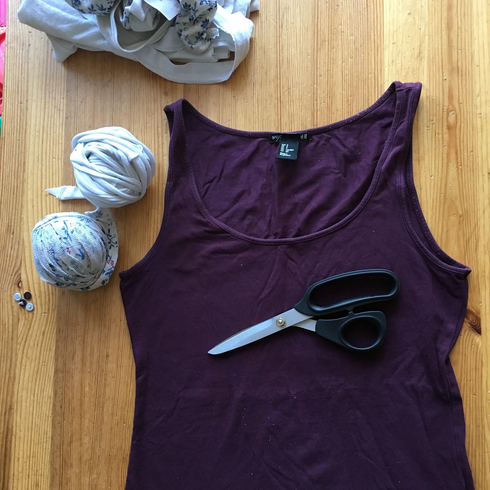 Préférence Comment faire une pelote de trapilho tee-shirt + tutoriel crochet  UN89