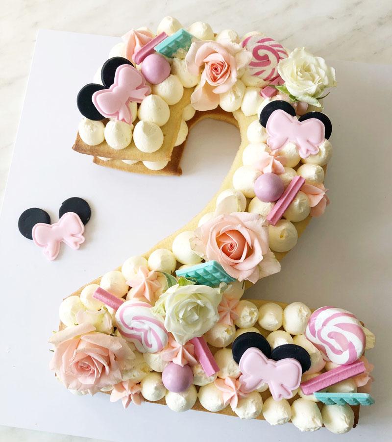 18 Mesmerizing Number Cakes