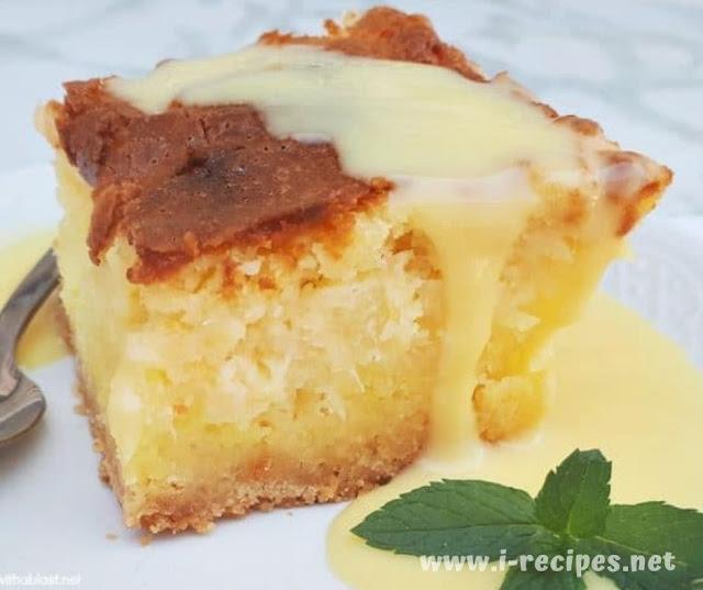 Gooey Coconut Pineapple Butter Cake