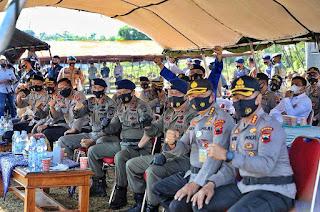 Kapolda Jateng Tutup Latihan Anti Anarkis Brimobda Jateng