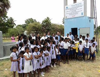 The Coke & UNDP Team with the Children of the Tamil Mixed school