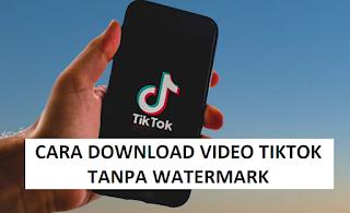 2 Cara Download Video Tiktok Tanpa Watermark tanpa Aplikasi Tambahan