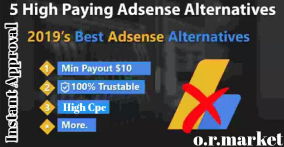 Top 5 Best Google  AdSense alternatives in 2019|Earn Without AdSense