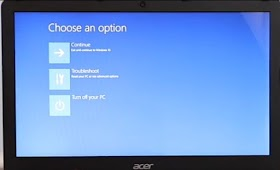 How to factory reset Acer laptops