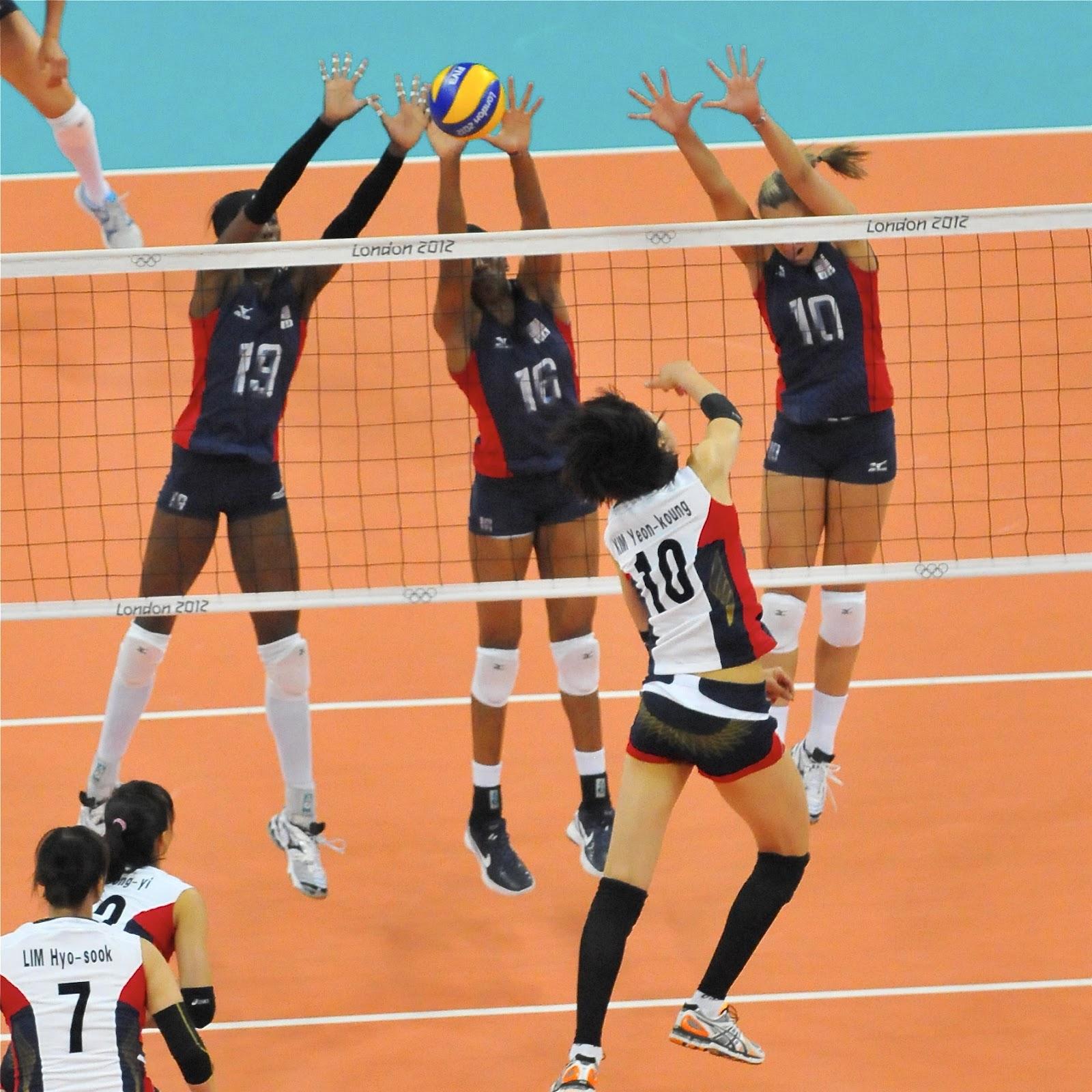 London 2012 Olympic Photo Blog: USA Women's Volleyball Team