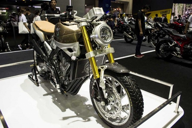 The Honda CB650 Scrambler Concept Has Been Presented At 37th Bangkok International Motor Show 2016 BIMS It Is Latest Of Numerous Concepts