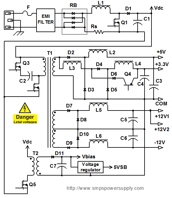 30a 250 Volt Wiring Diagram Atx Computer Power Supply Gallery Of Electronic Circuit