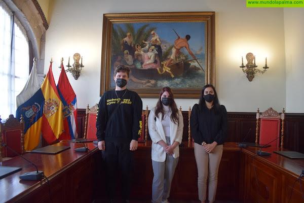 El Ayuntamiento de Santa Cruz de La Palma acoge a dos alumnos en prácticas de la ULL