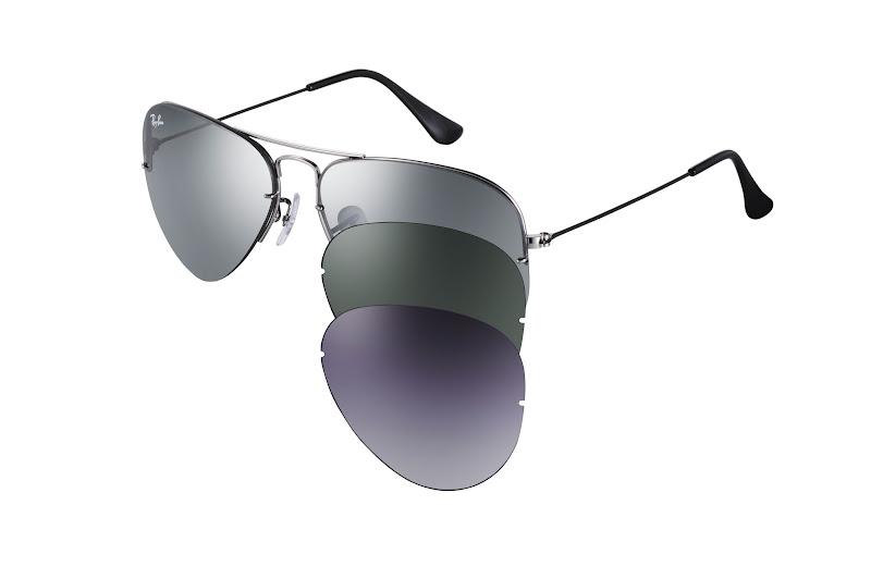 Além disso, a Sunglass Hut recebe com exclusividade a edição especial do  aviador com lentes azuis polarizadas que reduzem sensivelmente a claridade  e ... 754ee5dba5