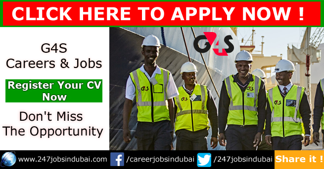 Careers Opportunities at G4S and Jobs UAE