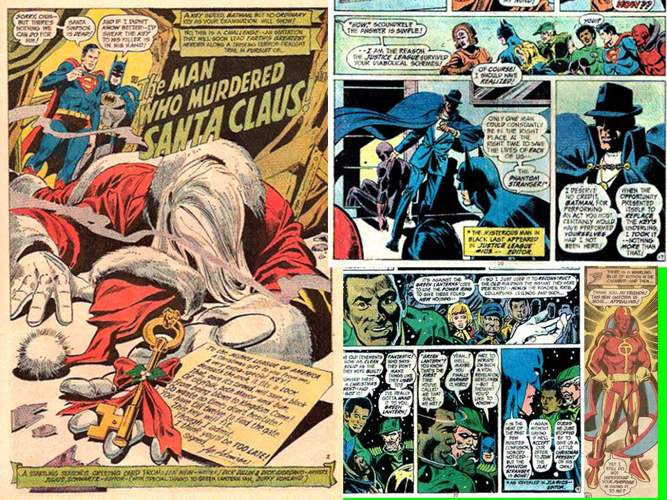Dave\'s Comic Heroes Blog: Justice League Christmas