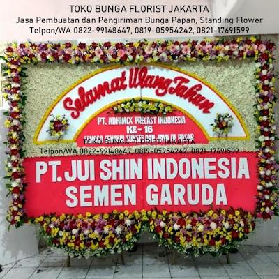 Toko Bunga di Jakarta Utara Pademangan, Penjaringan, Koja, Kelapa Gading, Tanjung Priok, Cilincing