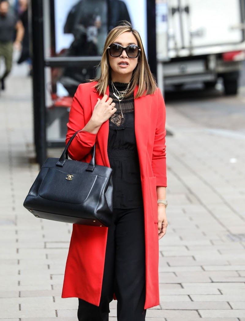 Myleene Klass Spotted at Smooth Radio in London 16 Oct -2020