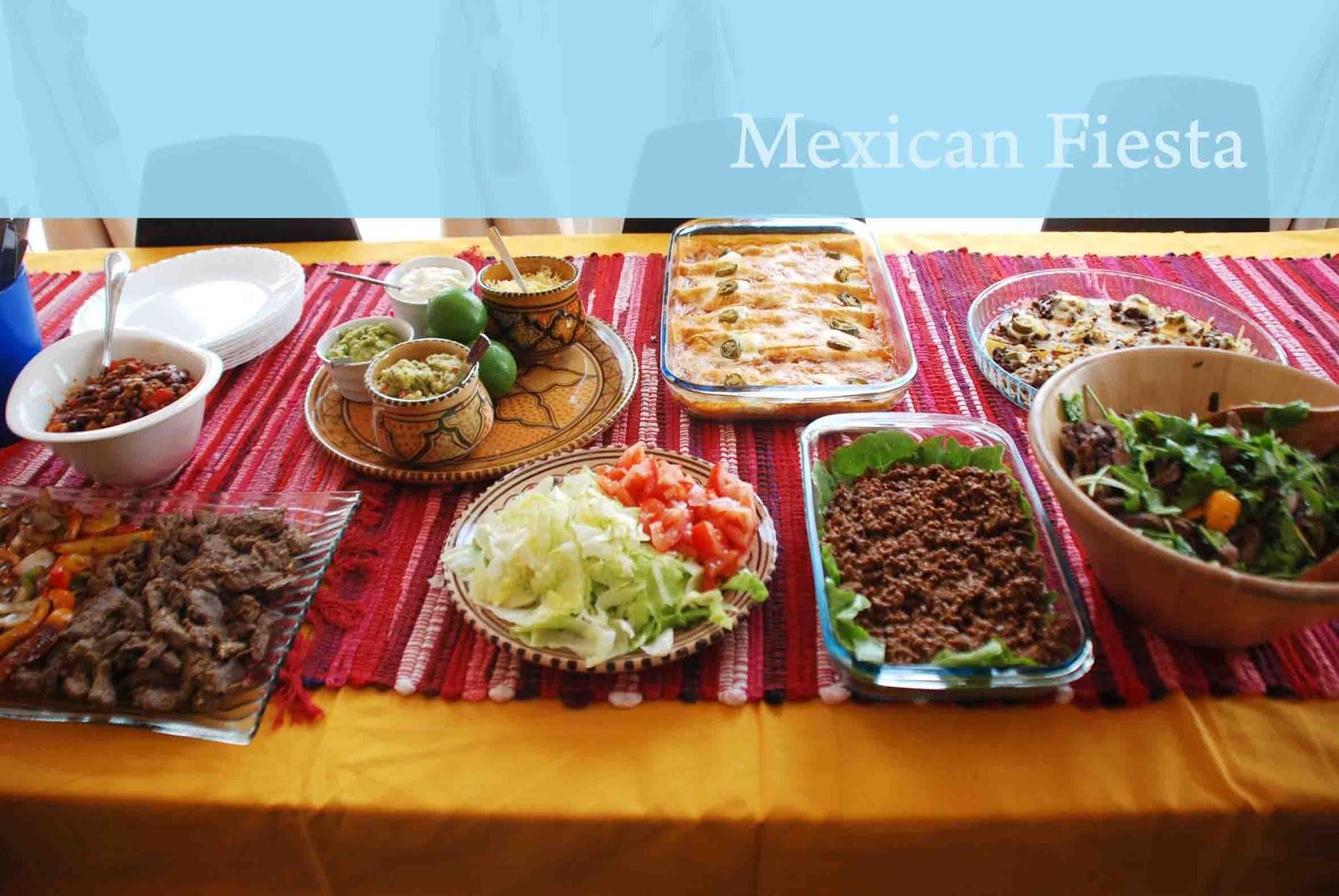 Mexican Fiesta - Travel Gourmande