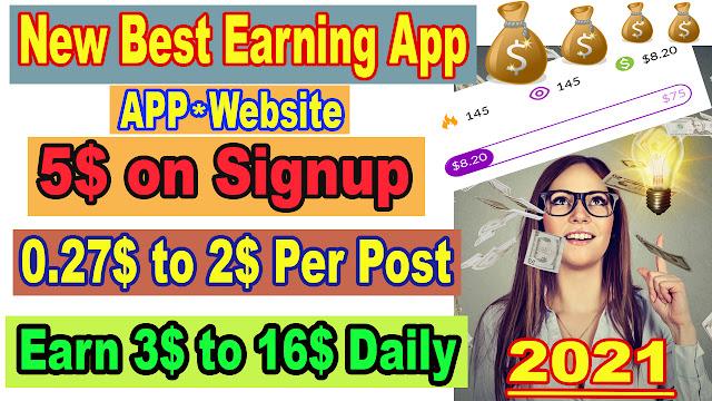 Best New Online Earning App 2021